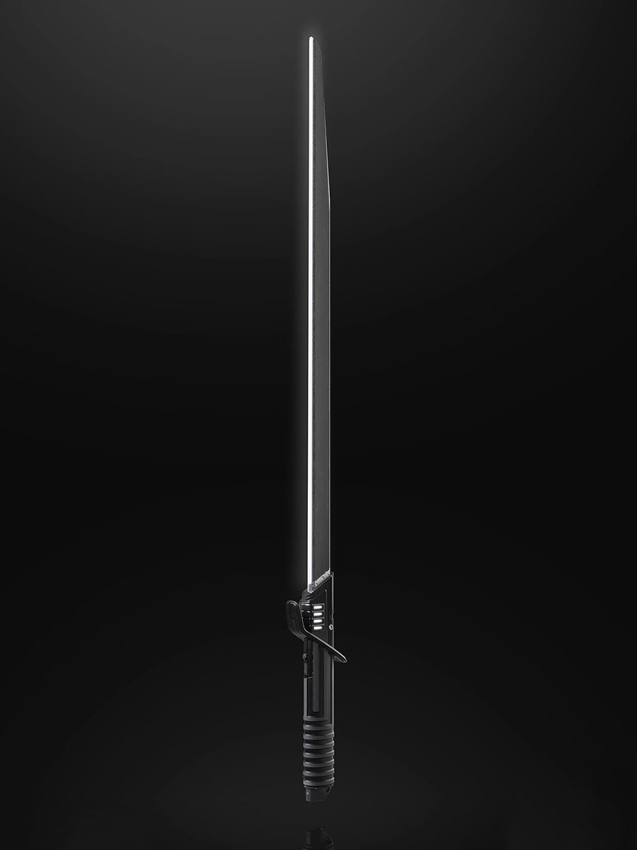 Star Wars The Black Series Mandalorian Darksaber Force FX Elite Lightsaber