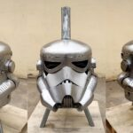 Someone Built A Stormtrooper Fire Pit That Does BBQ And Sweet Potatoes Too