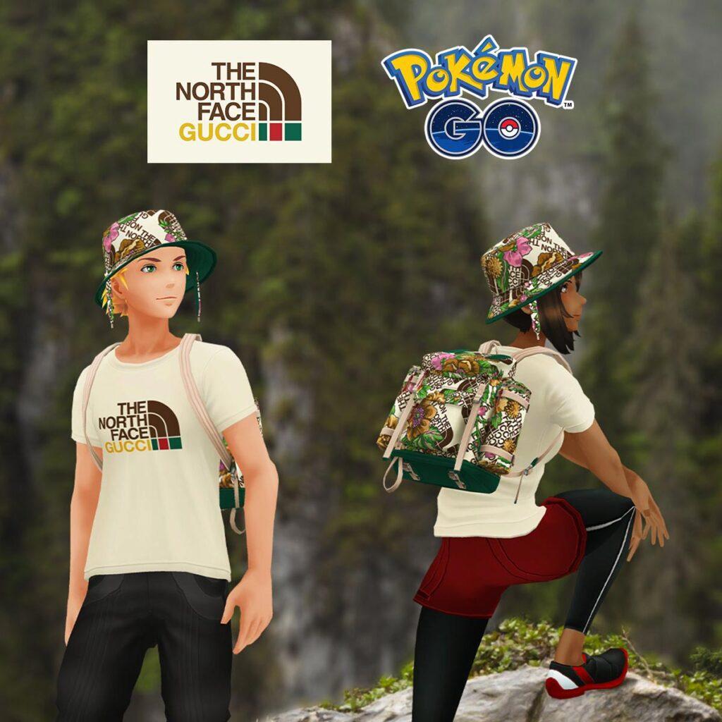 The North Face x Gucci Pokemon GO