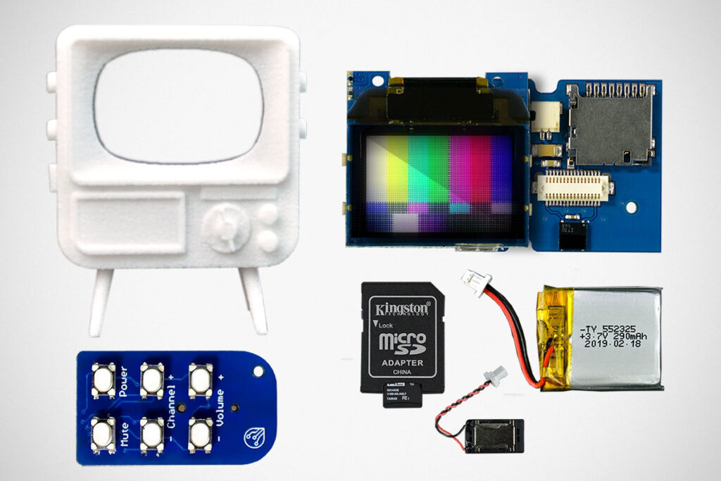 TinyTV DIY Kit from TinyCircuits