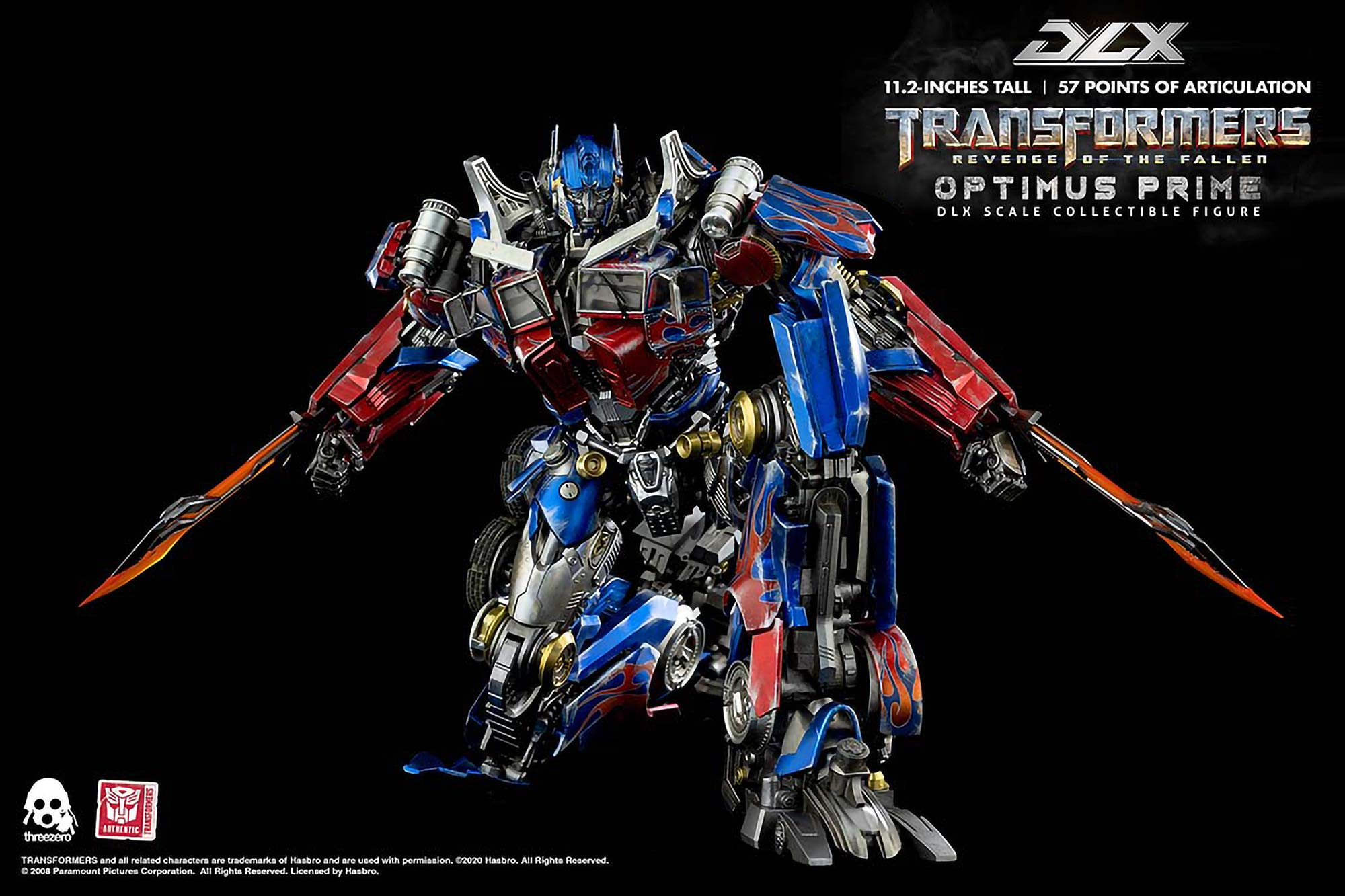 Transformers ROTF DLX Optimus Prime Figure