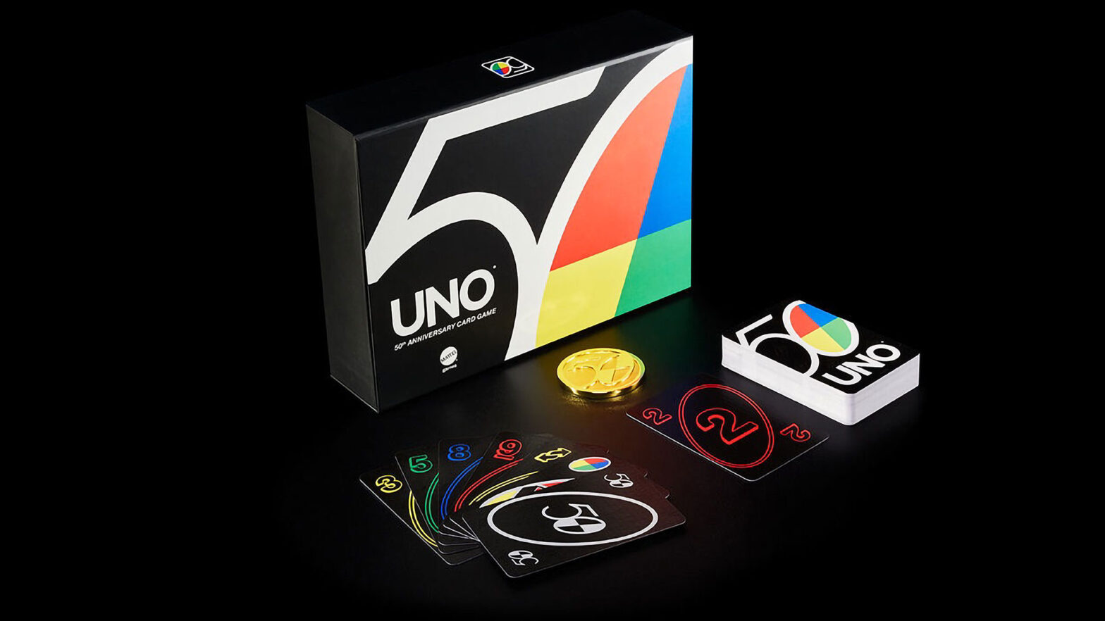 UNO 50th Anniversary Premium Card Set