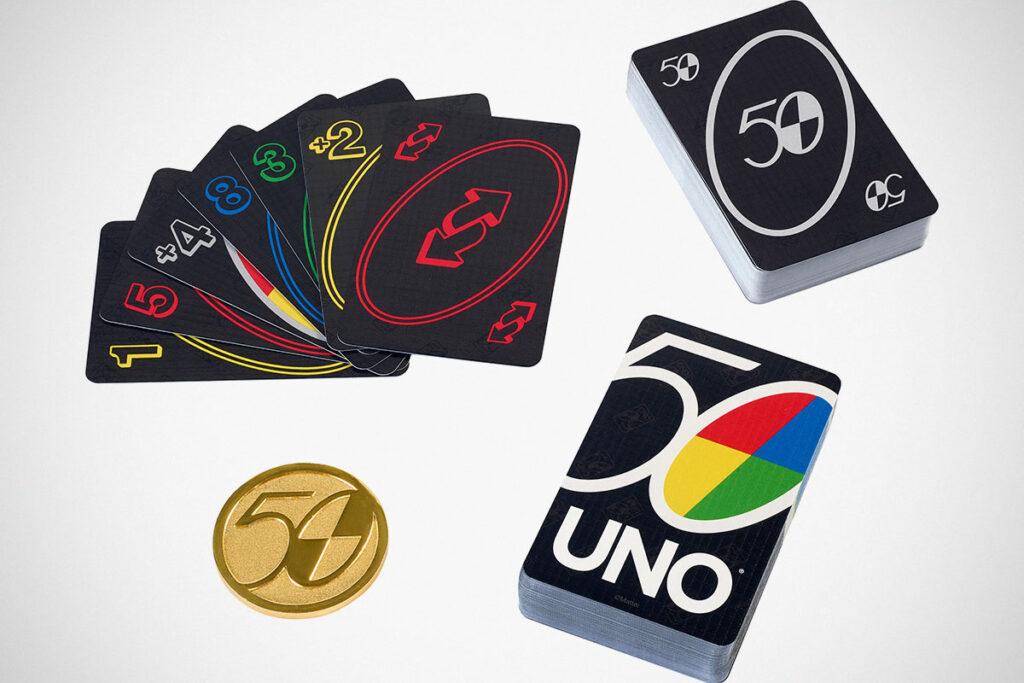 UNO 50th Anniversary Premium Card Set