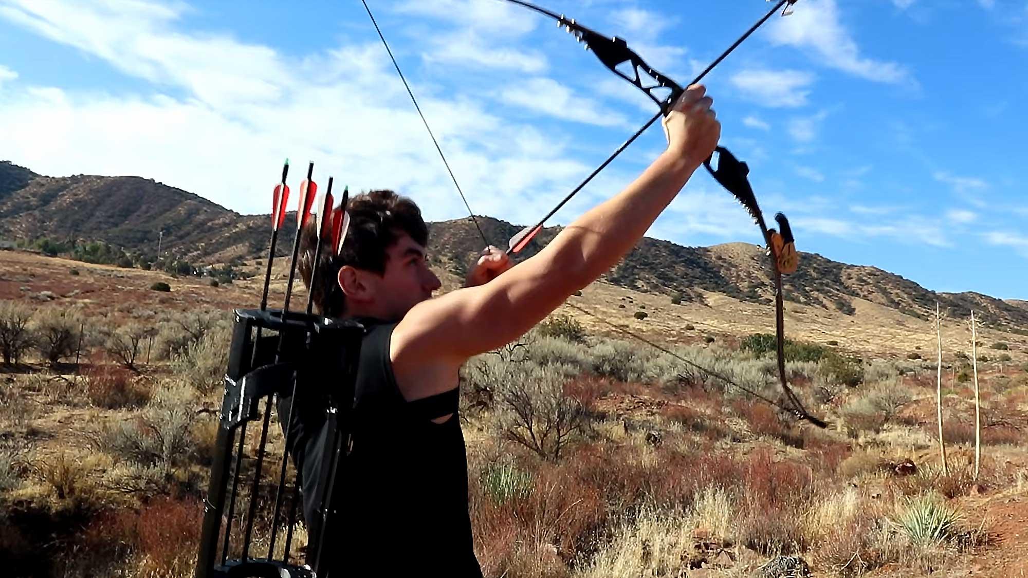 Working Avengers Hawkeye Gadget Arrows