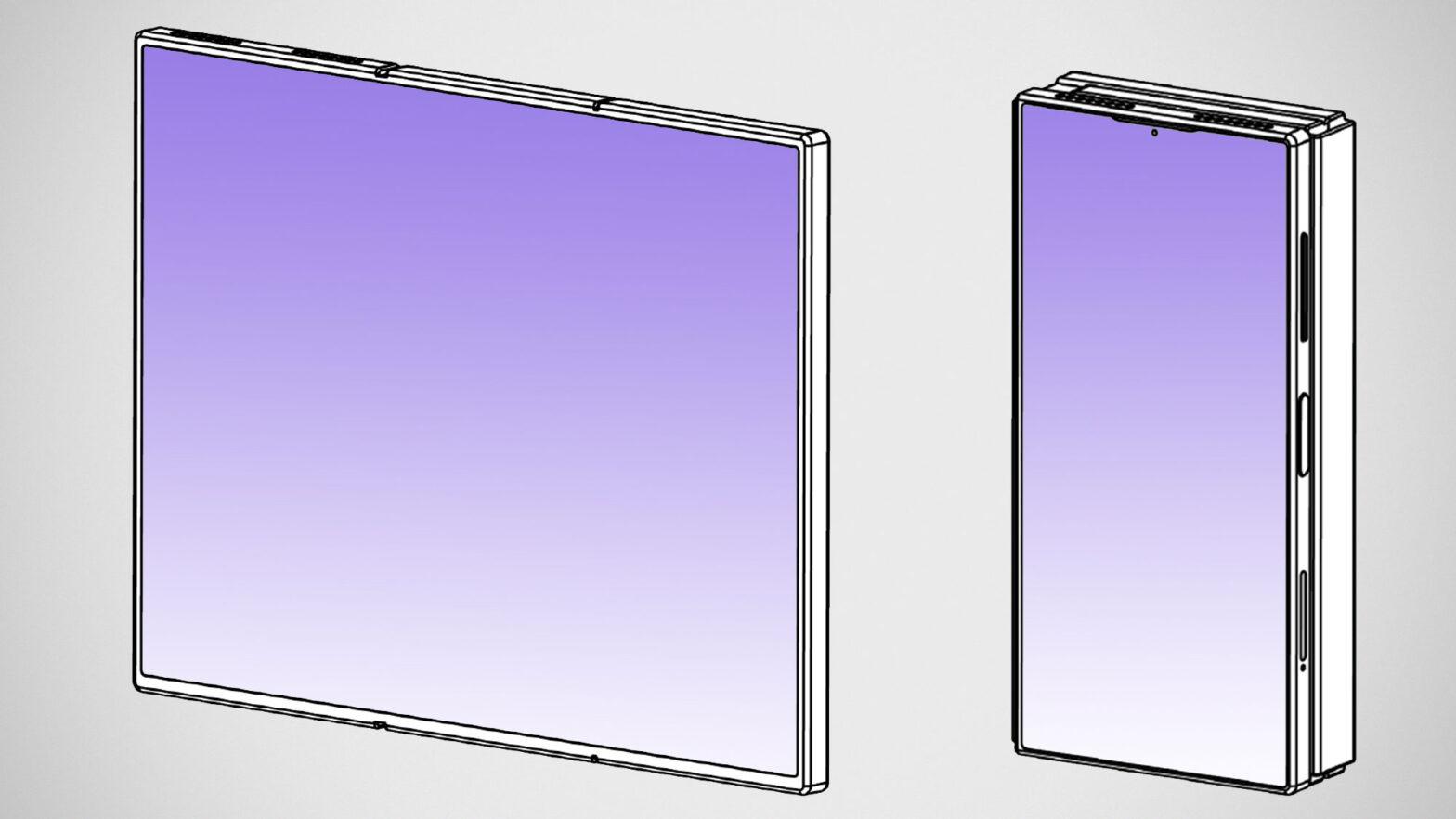 Xiaomi Tri-fold Phone Smartphone Patent