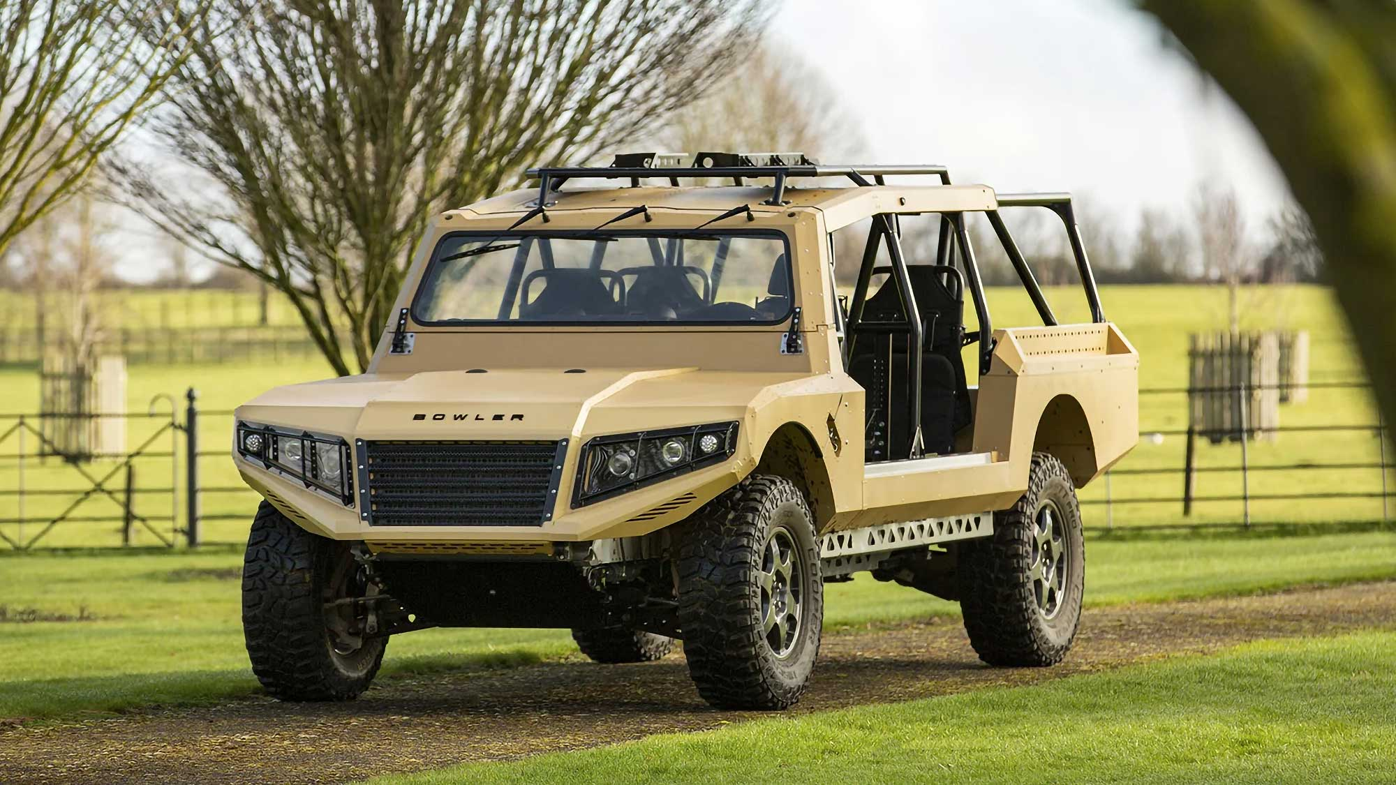 2017 Bowler CSP Rapid Intervention Vehicle Concept