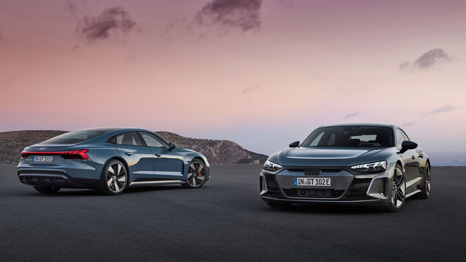 2022 Audi e-tron GT and RS e-tron GT EV
