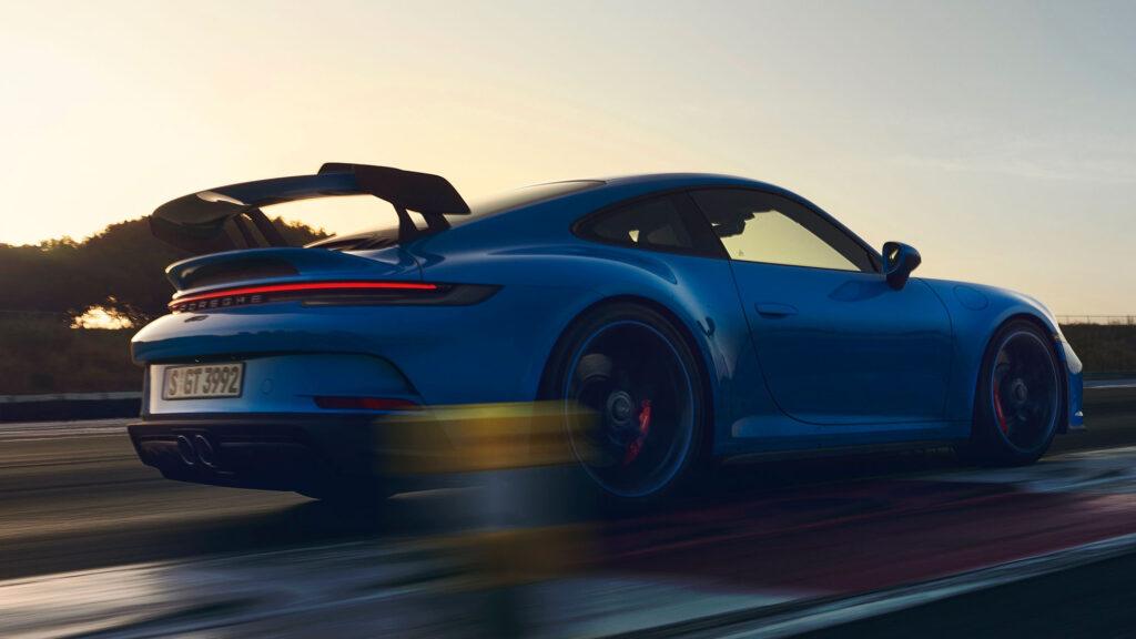 2022 Porsche 911 GT3 Race Car