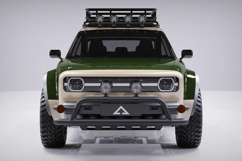 Alpha Jax Rugged Electric Vehicle