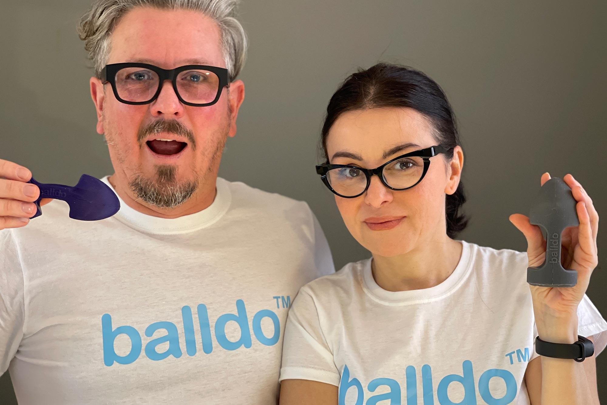 Balldo Attachable Dildo For Testicles