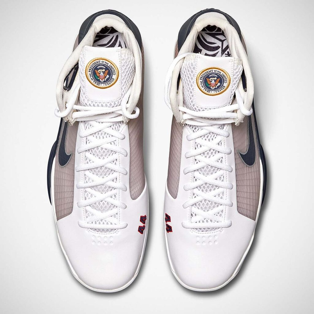 Barack Obama's Player Exclusive Nike Hyperdunk