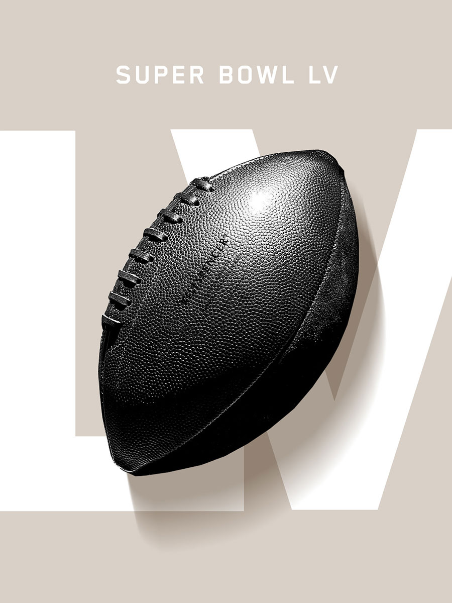 Black Horween Leather Football by KILLSPENCER