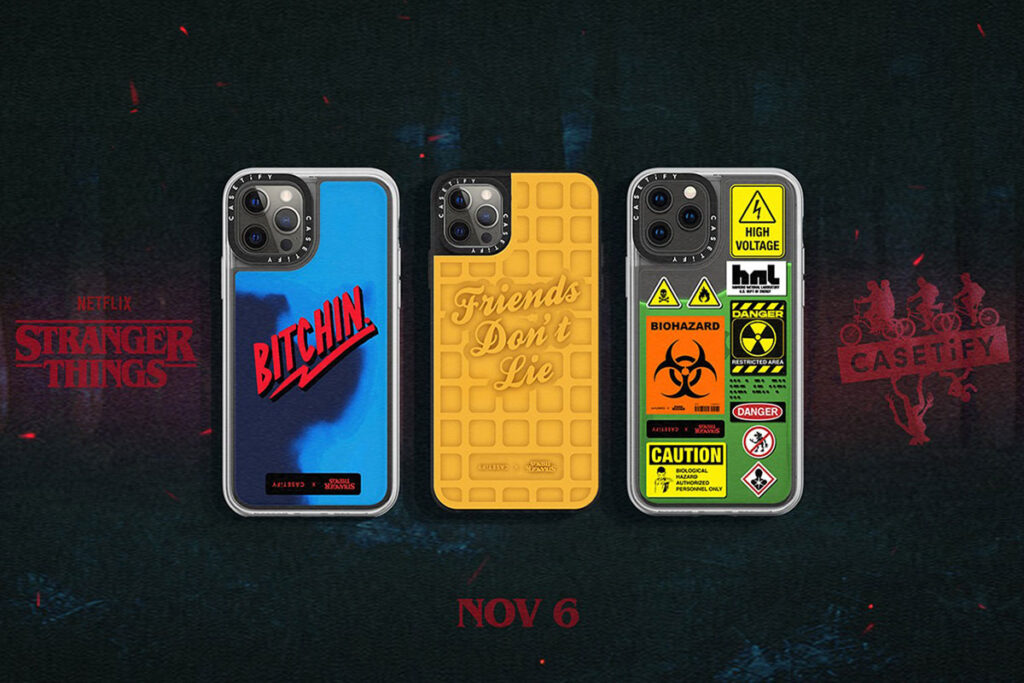 CASETiFY x Stranger Things Collection