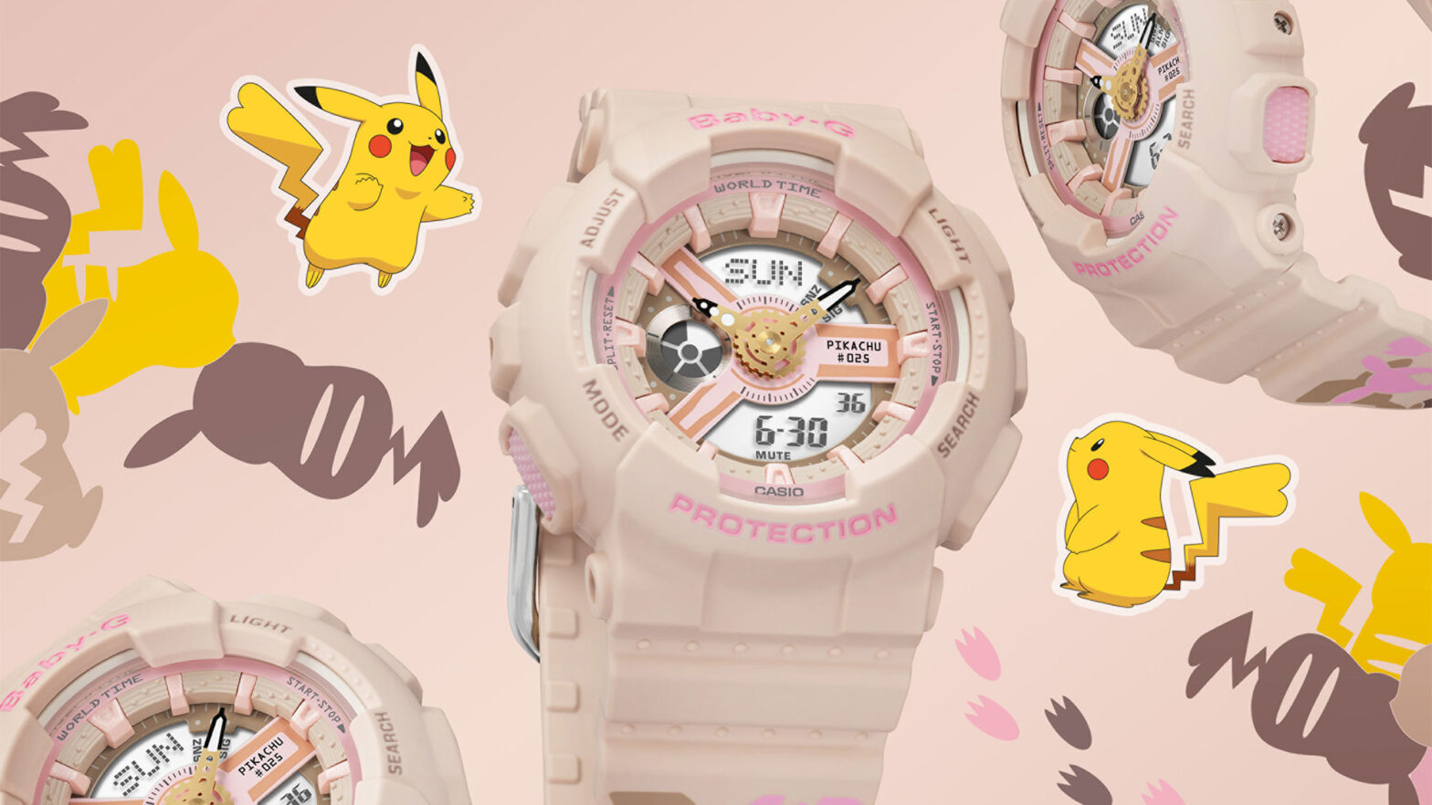 Casio Baby-G x Pokemon BA110PKC-4A Wat