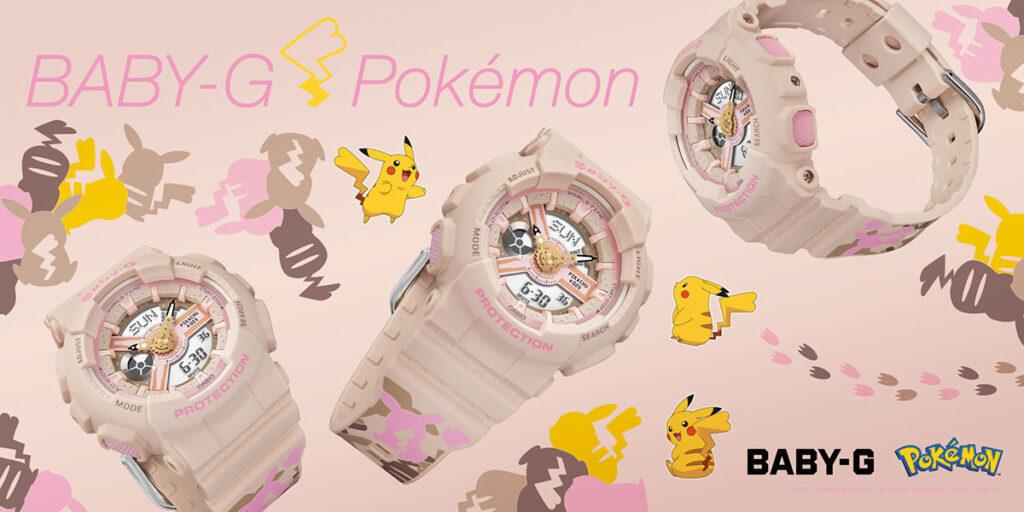 Casio Baby-G x Pokemon BA110PKC-4A Wat