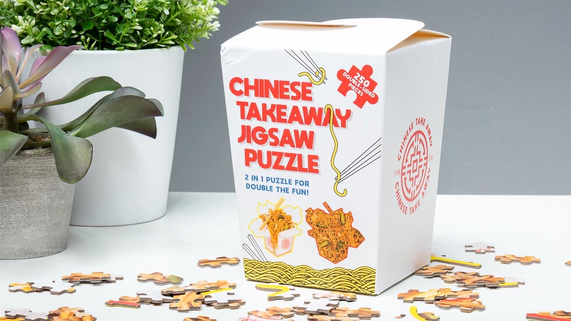 Chinese Takeaway Jigsaw Puzzle Firebox