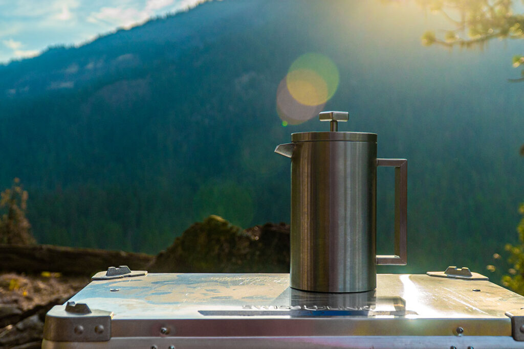 Coletti Boulder Camping French Press