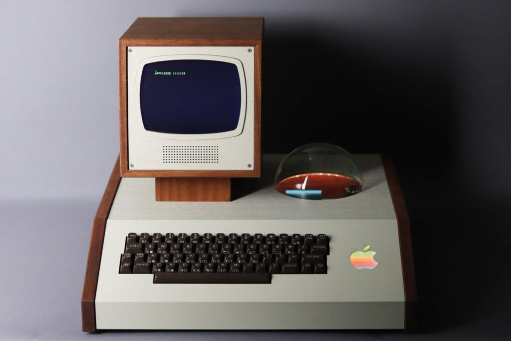 Custom Made Display Case for Apple 1 from 1976