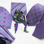 Japan Necktie Maker Teamed Up With <em>Evangelion</em> For Classy EVA Units-themed Ties