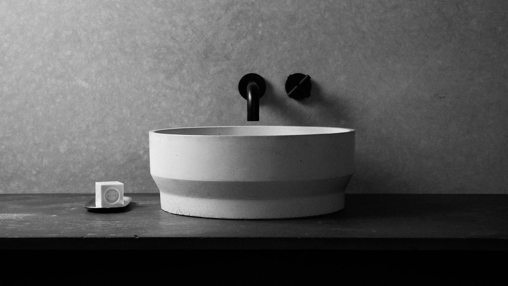 FORMED Concrete Basins for Bathrooms
