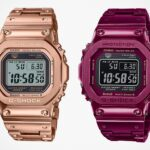 Casio Adds Rose Gold And Red IP Finished Variant To Its G-Shock Full Metal Series