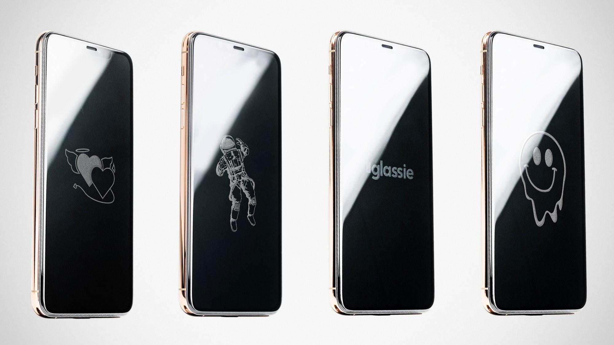 Glassie Personalized Smartphone Screen Protector