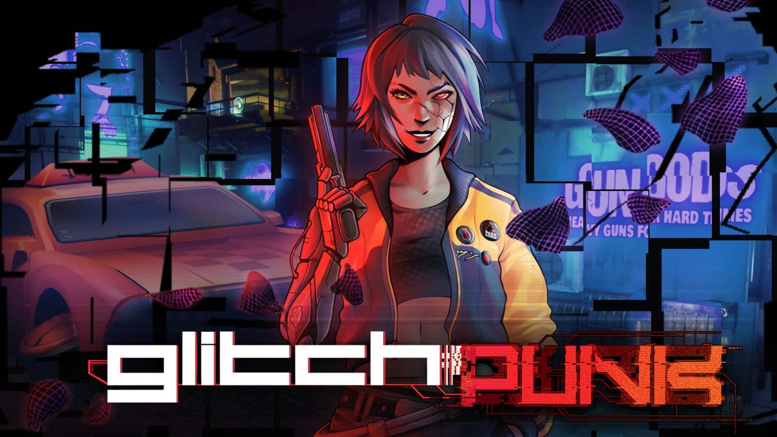 Glitchpunk Top-down Action Video Game
