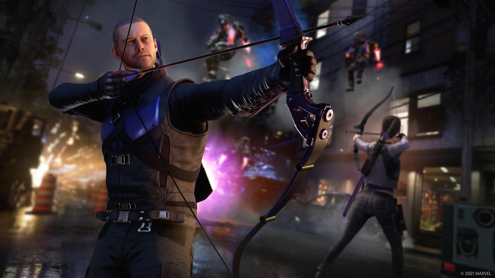 Hawkeye Joins Marvel's Avengers Video Game
