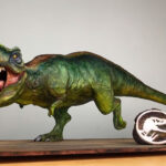 Watch This Hyperrealistic T-Rex Cake Taking Shape