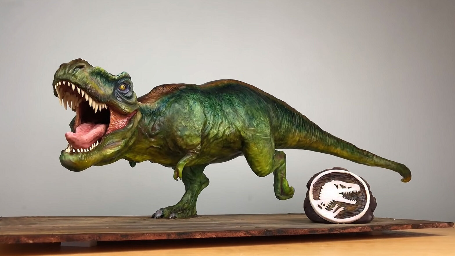 Hyperrealistic T-Rex Cake by Sideserf Cakes