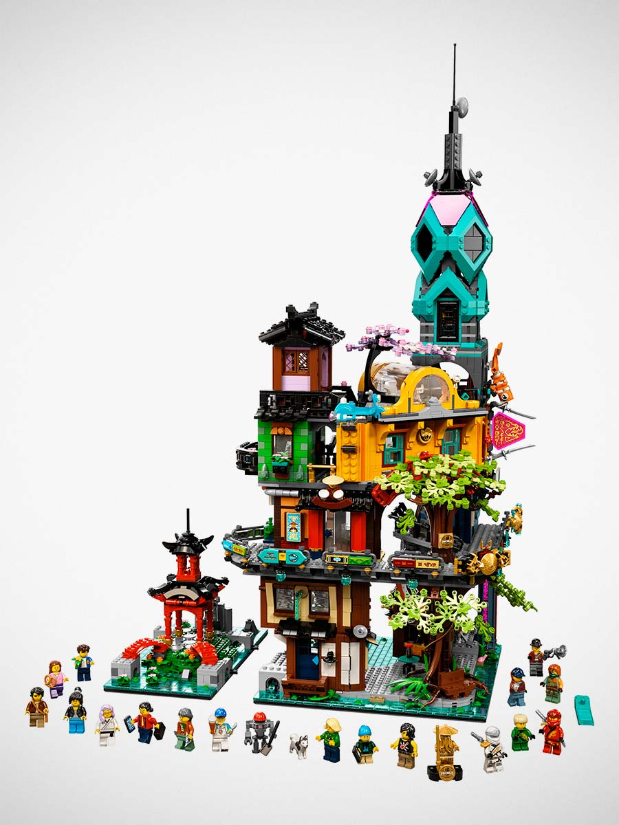 LEGO Celebrates 10 Years of Ninjago