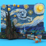 Vincent van Gogh's Starry Night Painting Goes 3D, Set To Become An Official LEGO Set