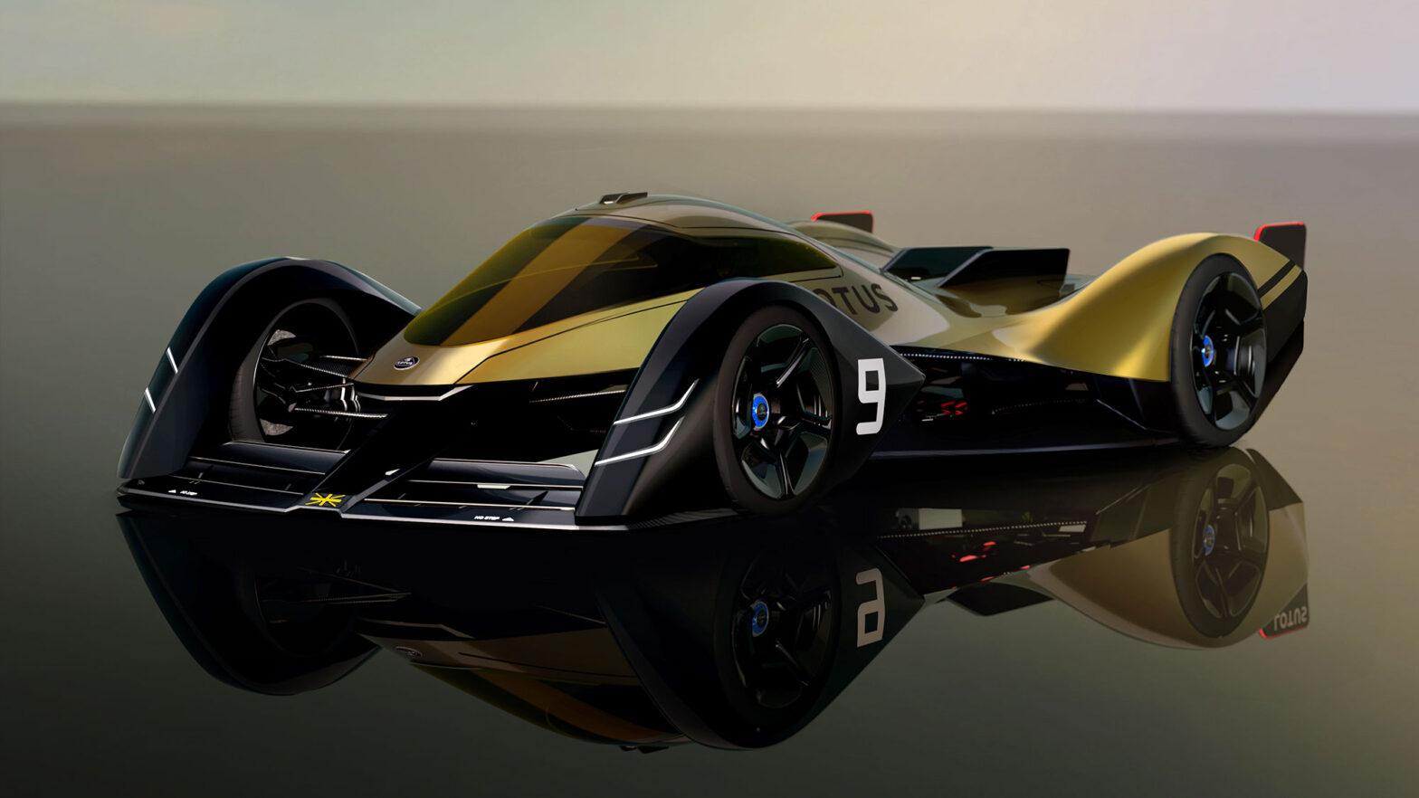 Lotus E-R9 Next-Gen EV Endurance Racer