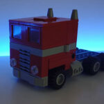 How To Build A Transformable <em>Transformers</em> Optimus Prime With LEGO Bricks