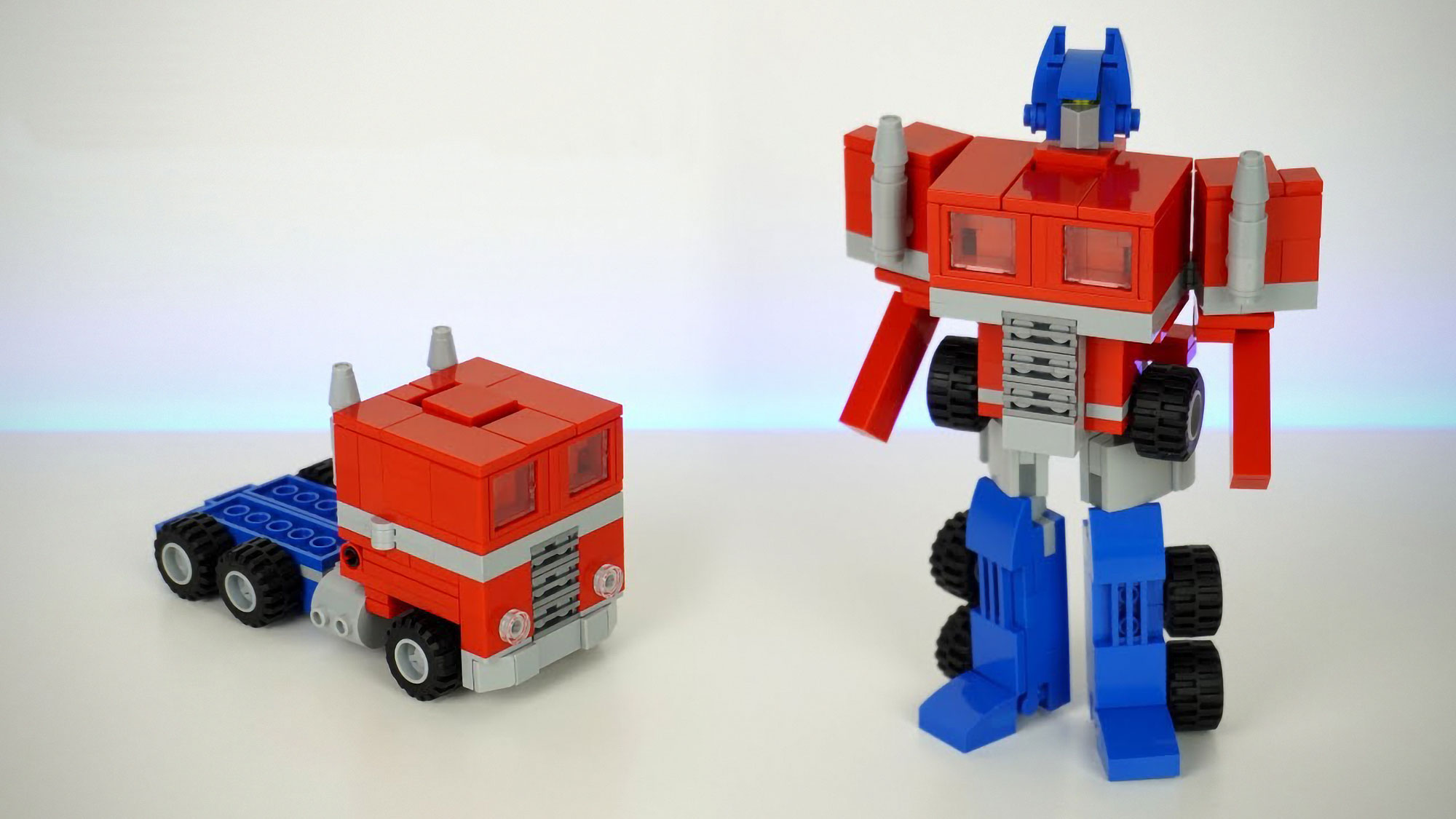 Building A Transforming Transformers Out of LEGO