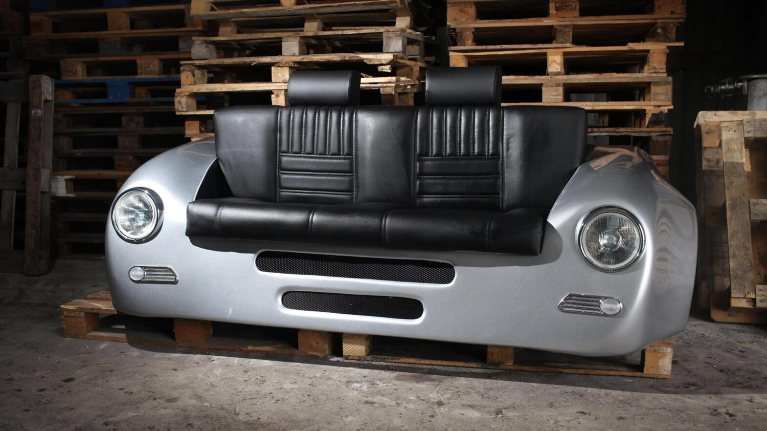 Design Epicentrum Porsche 356 and AC Cobra Style Sofas