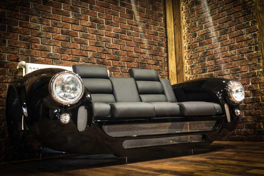 Design Epicentrum Porsche 356 and AC Cobra Style Sofas