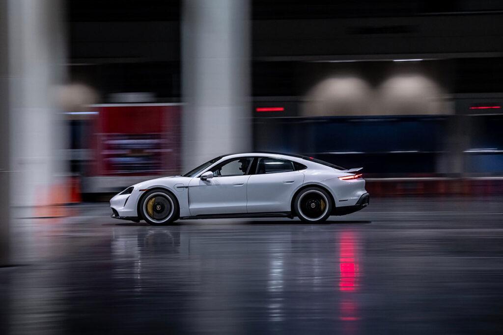 Porsche Taycan Guinness World Records