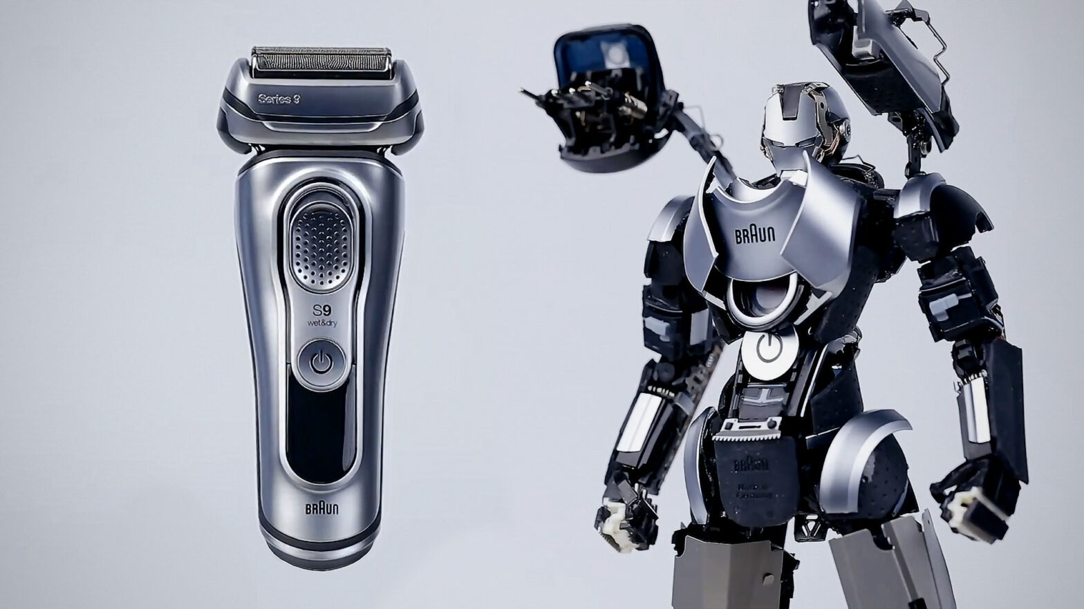 Ray Studio Turn Shaver Into a Robot Model