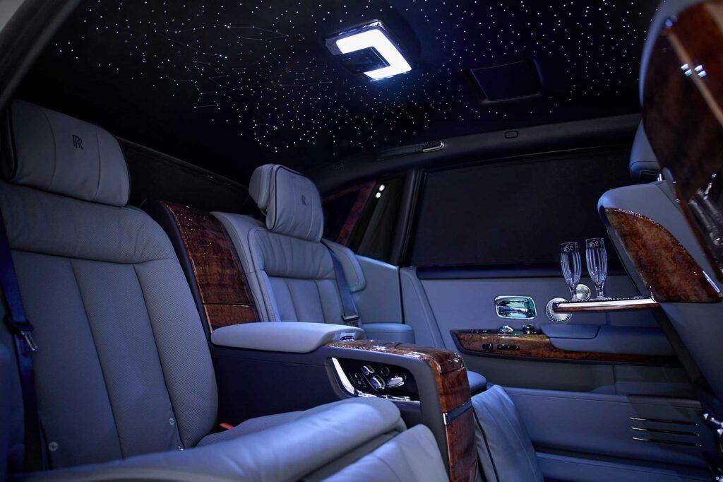 Rolls-Royce Bespoke Koa Wood Phantom Extended