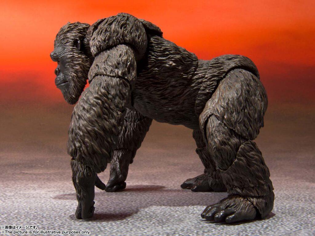 S.H.MonsterArts Godzilla vs. Kong Collectible Figures