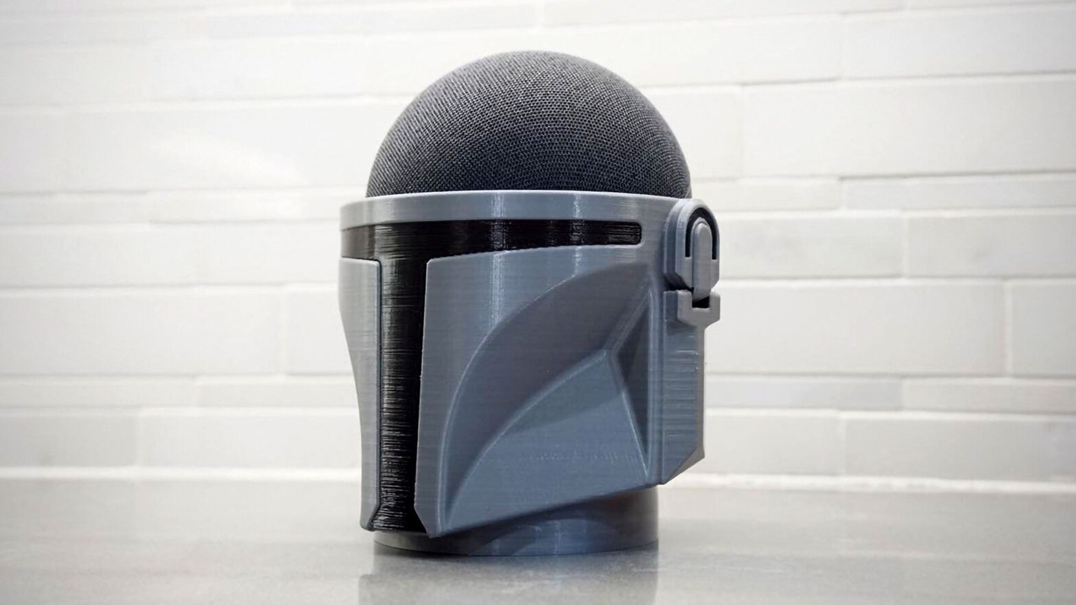 The Mandalorian Amazon Echo Dot Speaker Holder