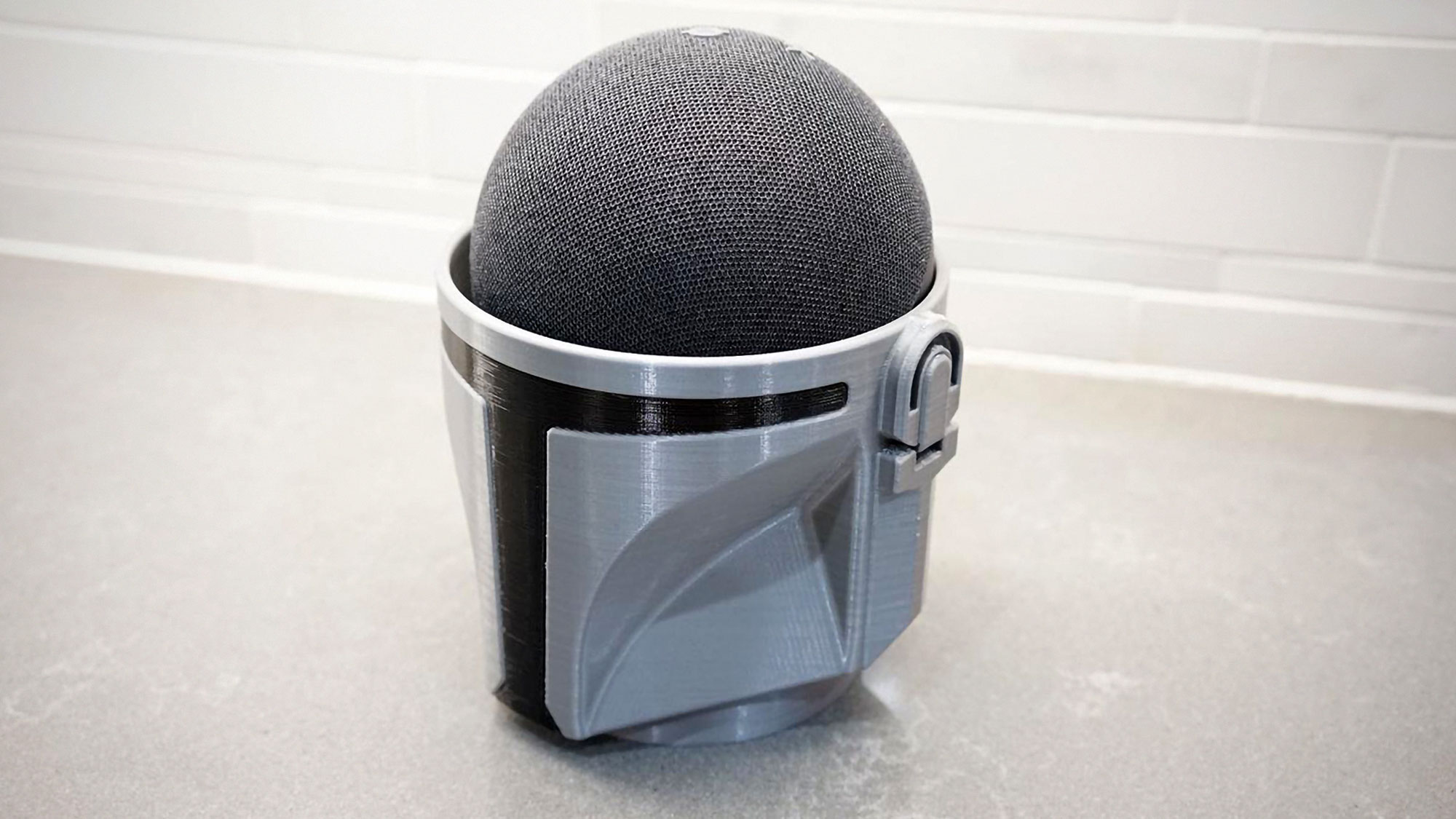The Mandalorian Amazon Echo Dot Speaker Holder