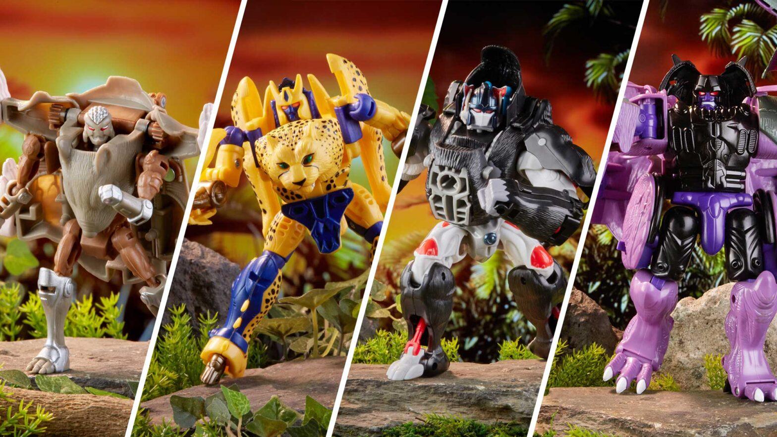 2021 Vintage Beast Wars Transformers Action Figures