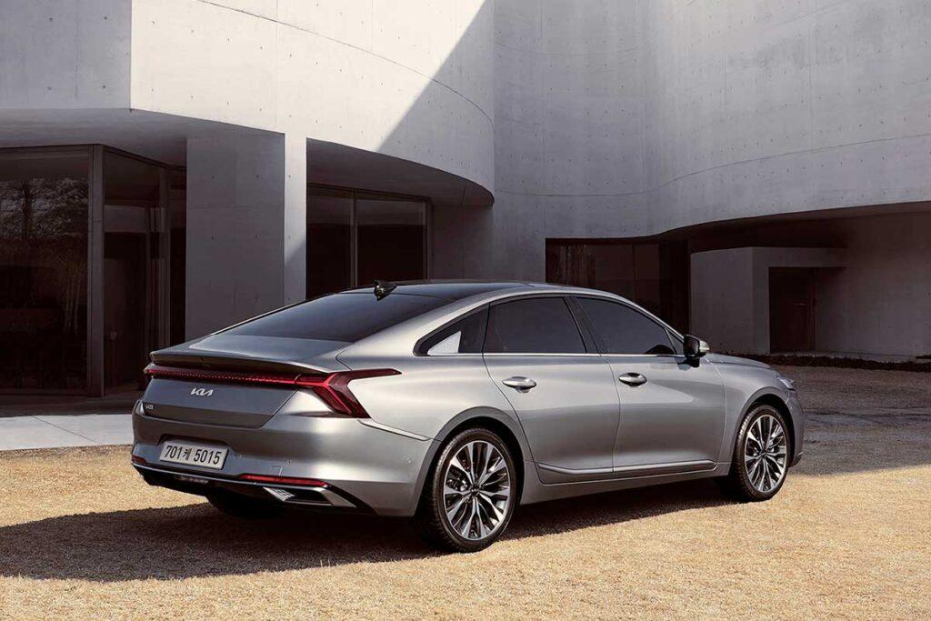 2022 Kia K8 Sedan Revealed