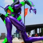 3-meter Tall <em>Evangelion</em> Unit 01 Statue Appears At Japan's Premium Outlets