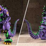 New Images Of Aoshima <em>Godzilla</em> x <em>Evangelion</em> Model Kit Surfaced