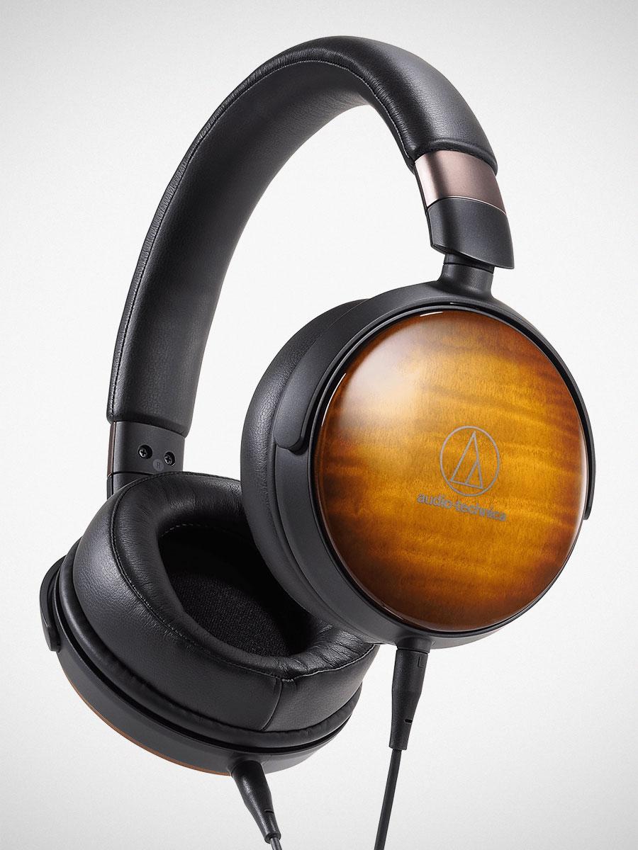 Audio-Technica ATH-WP900 Portable Wooden Headphones