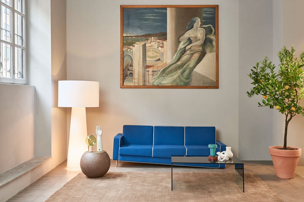 Capellini Adaptation Sofa by Fabio Novembre
