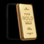 This Phone Is Literally A Solid Gold Bar Thus Making It A High-tech Gold Bar